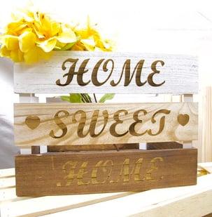 1- Home Sweet Home Backet