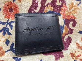 Laser Engraved Wallet