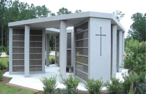 cemetery memorial cremation recessed urns