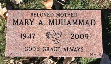 Muhammad - Flush Memorial-1
