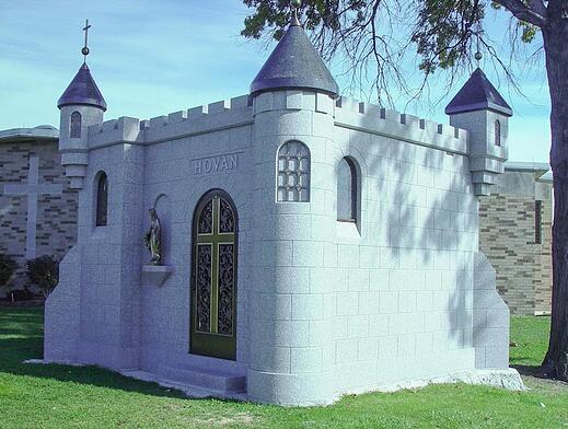Hovan - Family Mausoleum - Holy Cross Cemetery