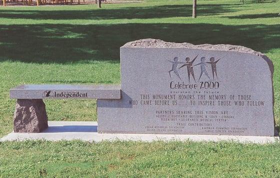 Celebrate 2000 - Memorial Bench.jpg