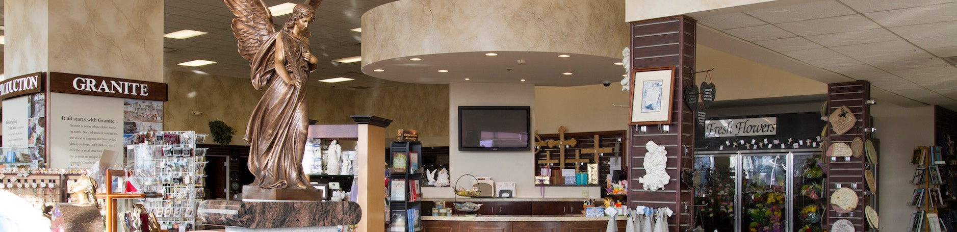 Milano Monuments Showroom in Cleveland