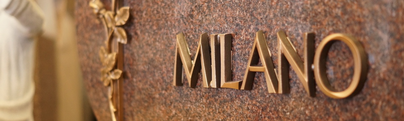 Milano Monuments Bronze Accent