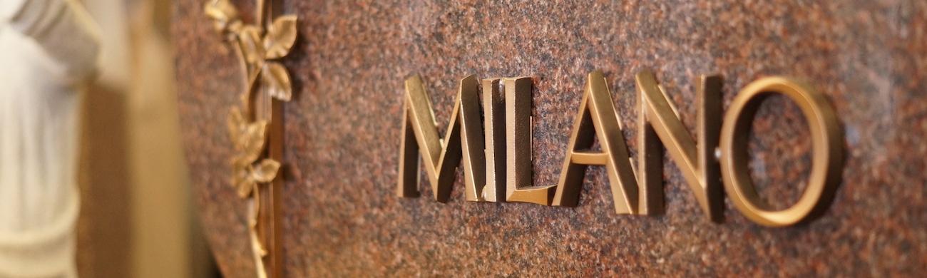 Milano Monuments Bronze Accent