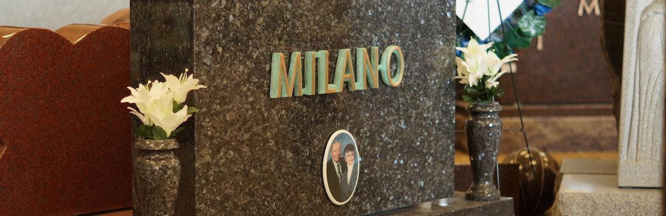Milano Monuments Memorial - Story