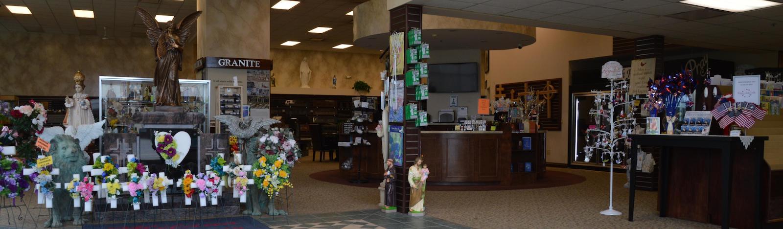 milano monuments cleveland main location showroom