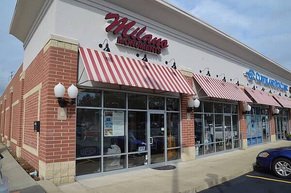 Milano Monuments Bedford Location
