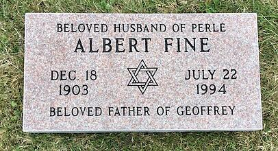 Fine - Flush Lawn Level Memorial