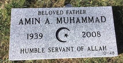 Muhammad - Flush Lawn Level Memorial