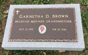Brown - Bronze Memorial
