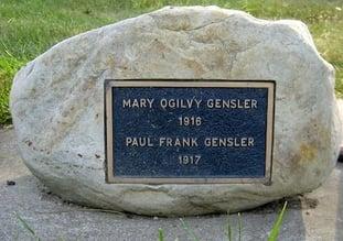 gensler bronze stone memorial