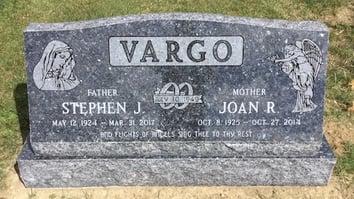 Vargo - Slant Memorial - Northfield Center Cemetery