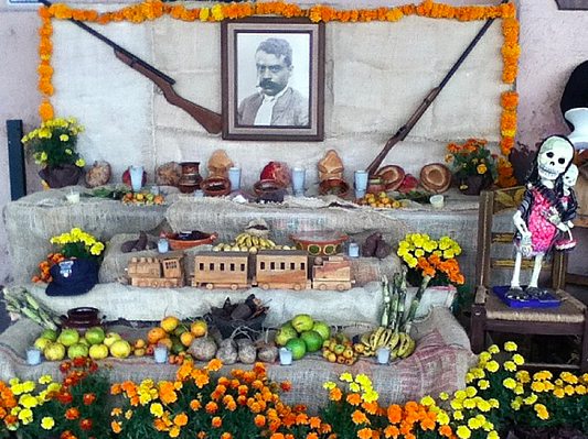 Ofrenda for Dia de los Muertos