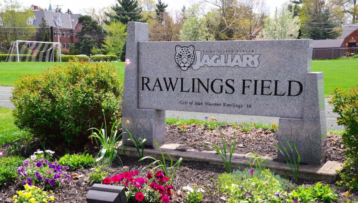 St.Josephs Academy Rawlings Field Sign for St. Joseph's Academy