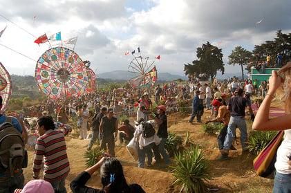 kite festival in guatemala